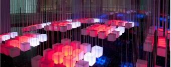 Акриловые световые структуры