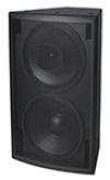Fulcrum Acoustic DX1565 Dual 15 inch Coaxial Loudspeaker, 60° x 45°