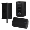Fulcrum Acoustic FA28ac Self-Powered Dual 8 inch Coaxial Loudspeaker, 90° x 60°