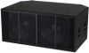 Fulcrum Acoustic Sub218Lac Self-Powered Dual 18 in Direct-Radiating Subwoofer