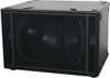 Fulcrum Acoustic US221-2 Dual 21 inch Direct-Radiating Subwoofer